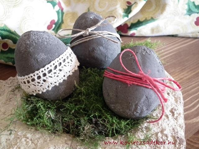 Húsvéti beton tojások, KÓD: HÚ 01