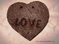 """könnyűbeton falikép """"LOVE"""""""