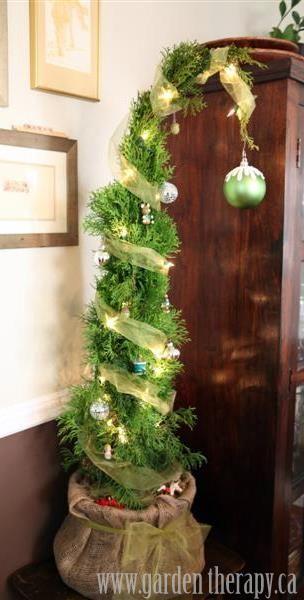 grincsfa, mini karácsonyfa