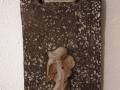 könnyűbeton falikép karácsonyi mintával, 15x20 cm, KÓD: KK 03