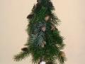 mini karácsonyfa könnyűbeton talpon, KÓD: KAR 06