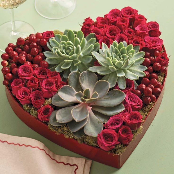 succulents, Valentine-day, valentin-nap, pozsgások