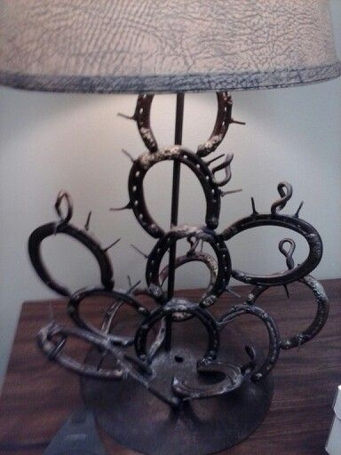 kaktusz lópatkóból, horseshoe cactus lamp